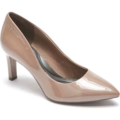 Rockport Total Motion Luxe Valerie Pump- Beige