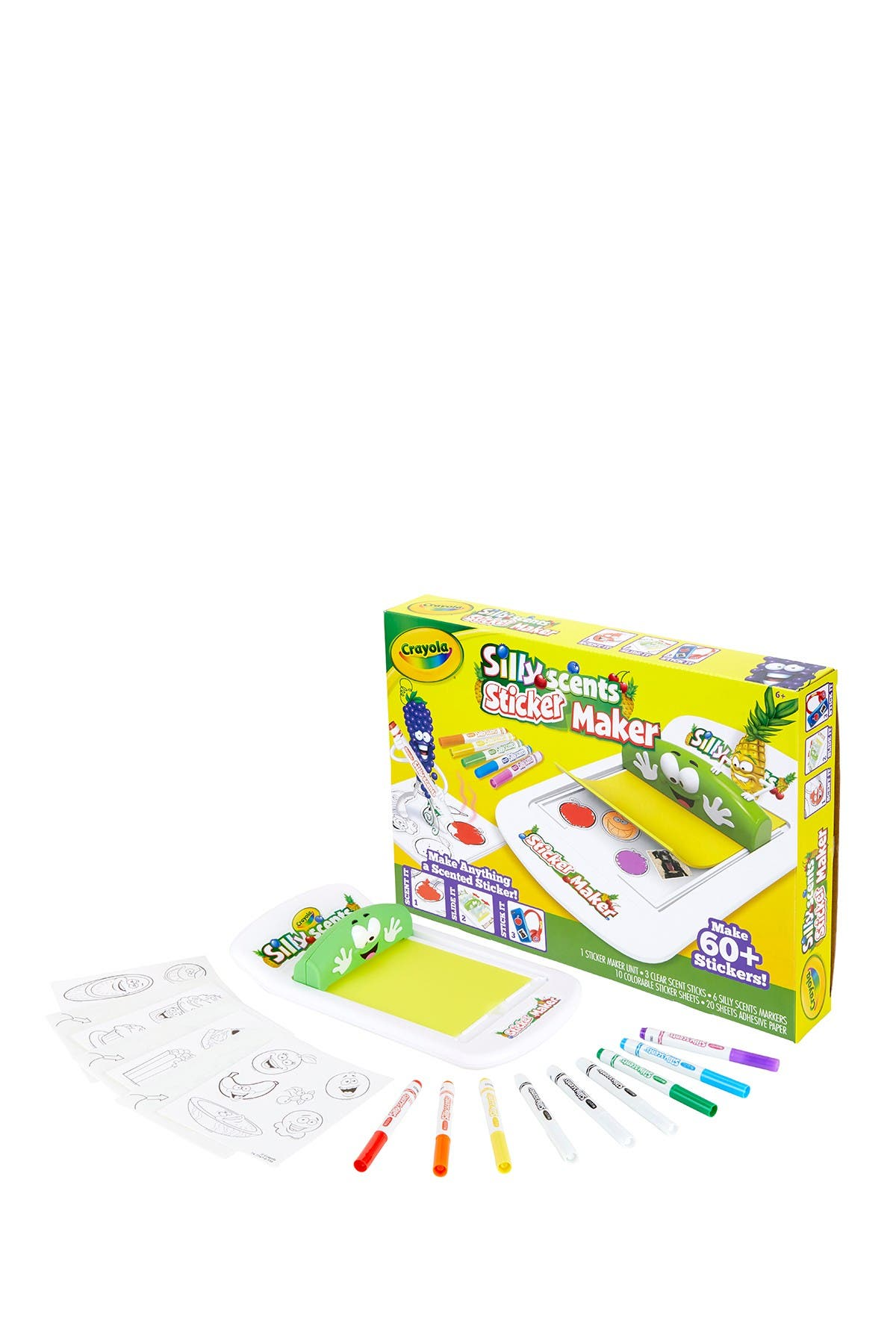 Image of Crayola Silly Scents Sticker Maker