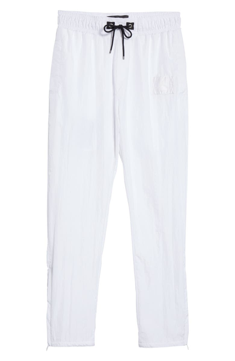 JORDAN x Union NRG Vault AJ Flight Nylon Warm-Up Pants, Main, color, WHITE