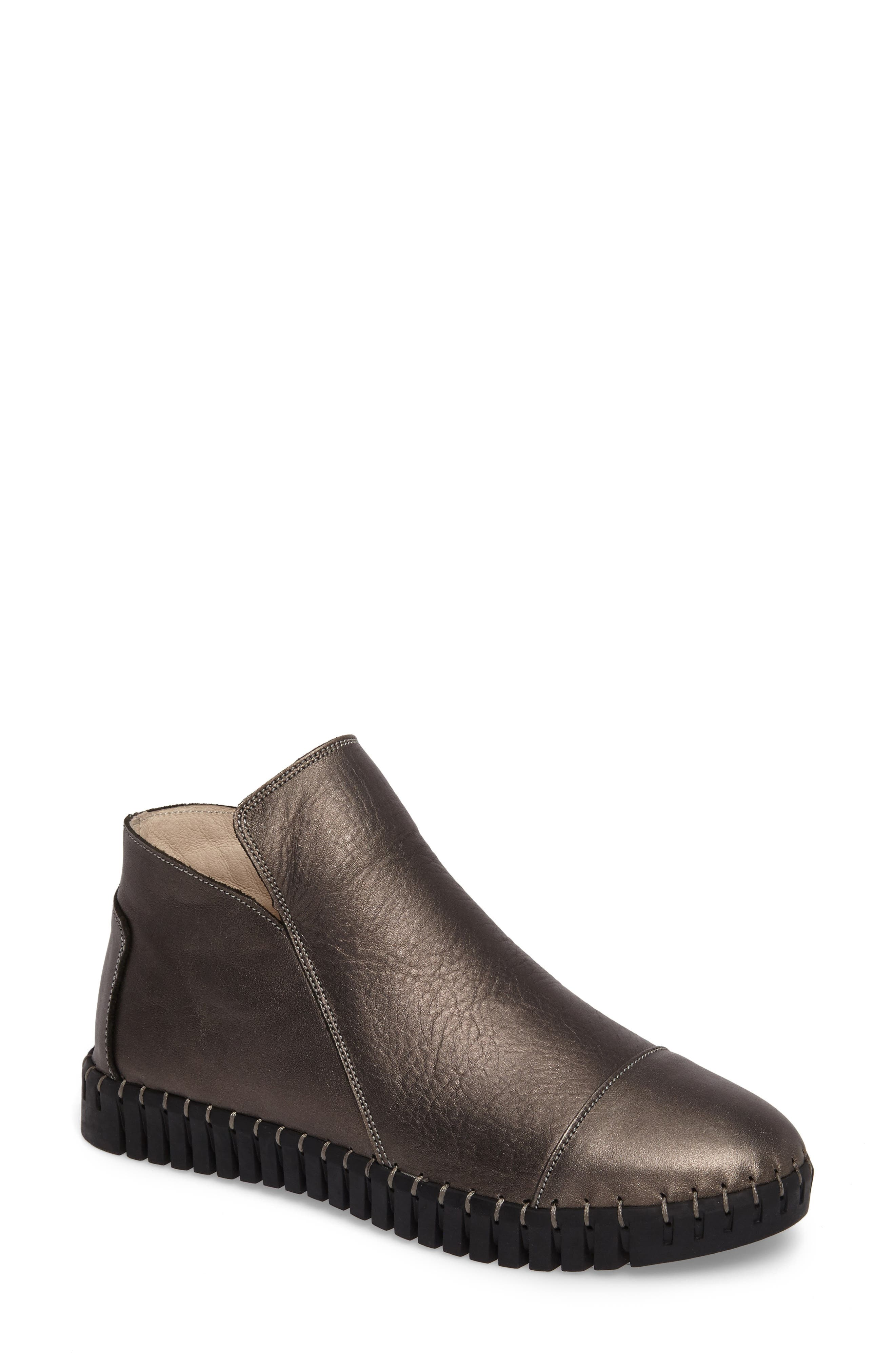 TW80 Bootie, Main, color, GUNMETAL LEATHER