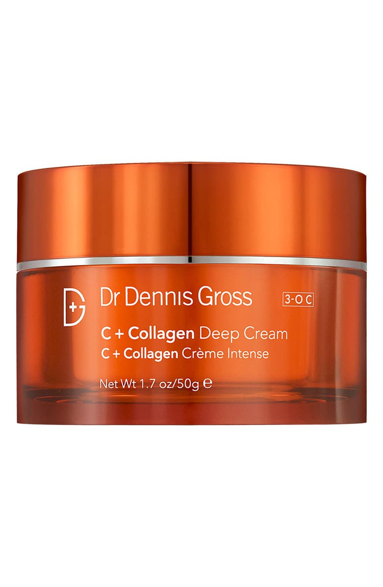 DR. DENNIS GROSS Skincare C + Collagen Deep Cream, Main, color, NO COLOR