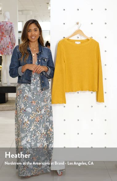 Bell Sleeve Sweater, sales video thumbnail