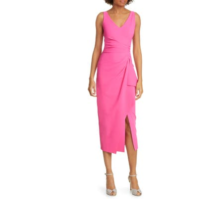 Chiara Boni La Petite Robe Kloty Ruched Midi Dress