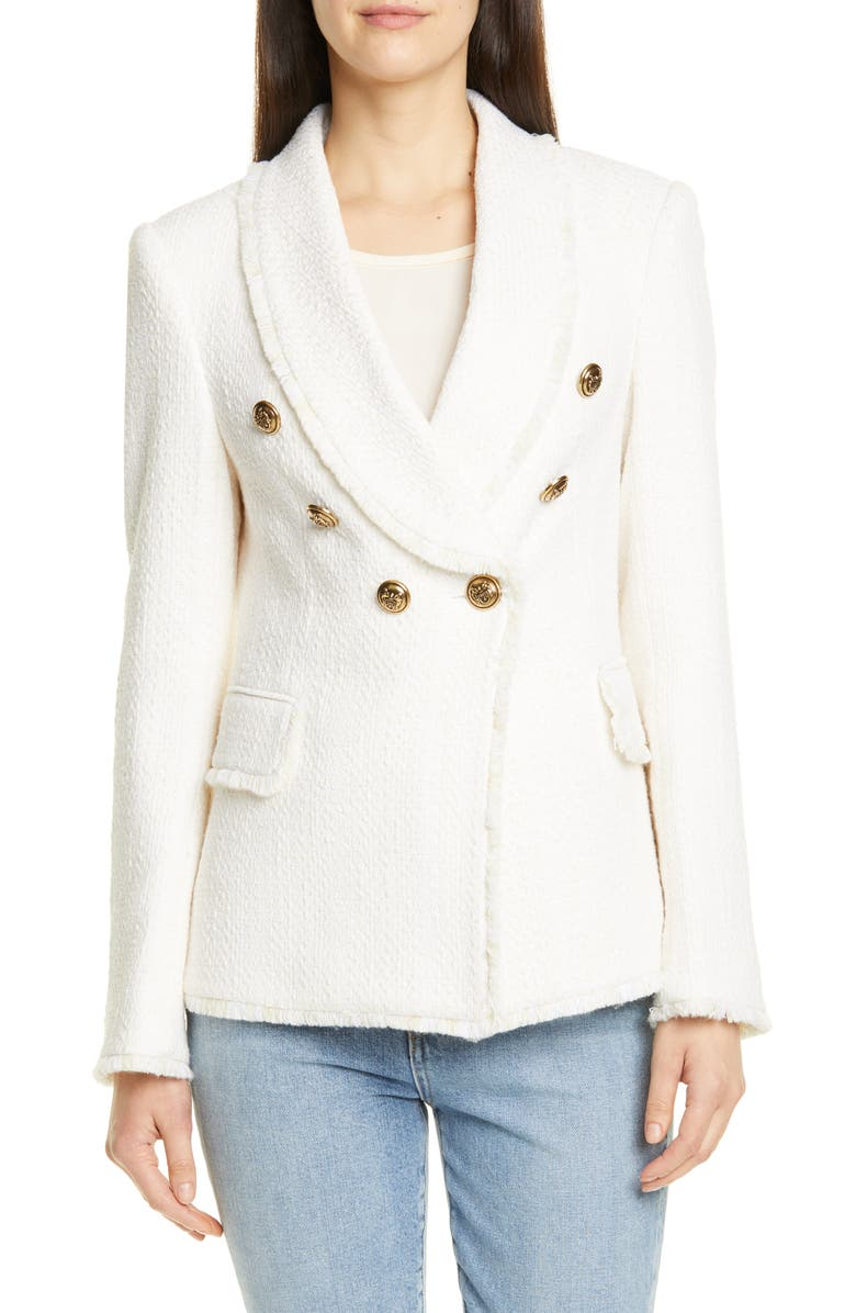 HELENE BERMAN Shawl Collar Jacket, Main, color, 900