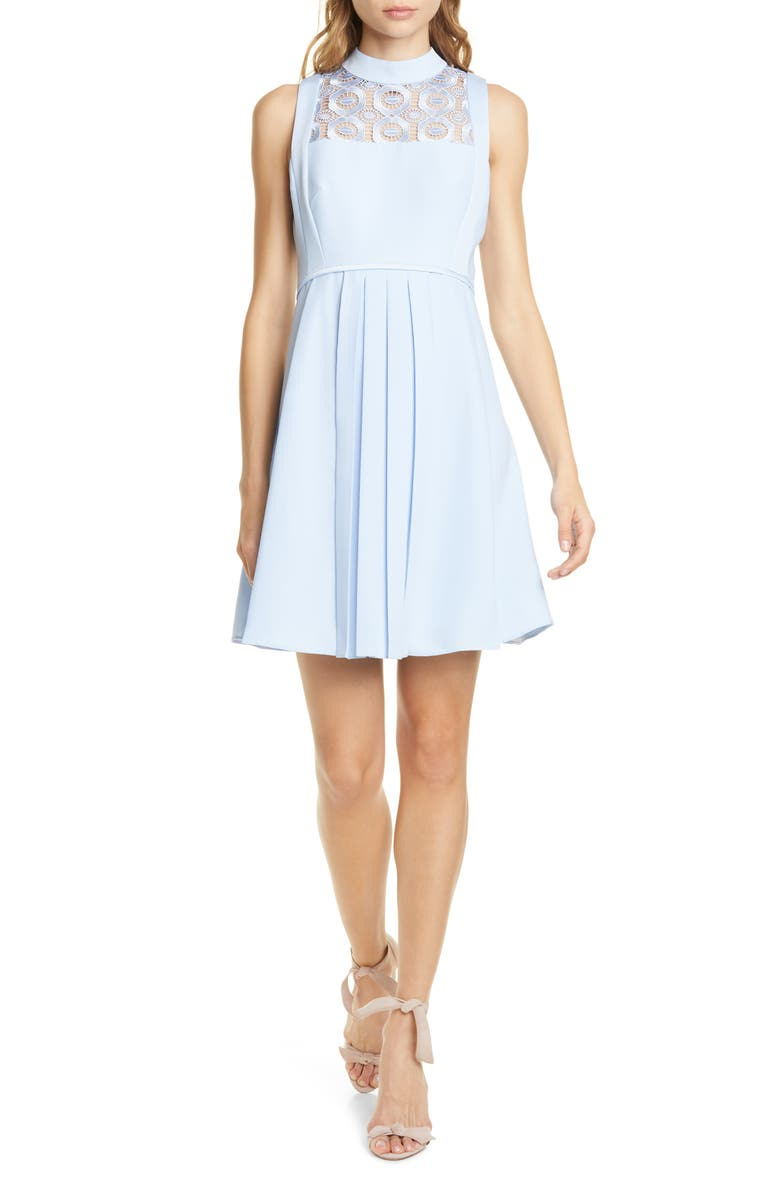 Ted Baker London Abequa Lace Yoke Skater Dress