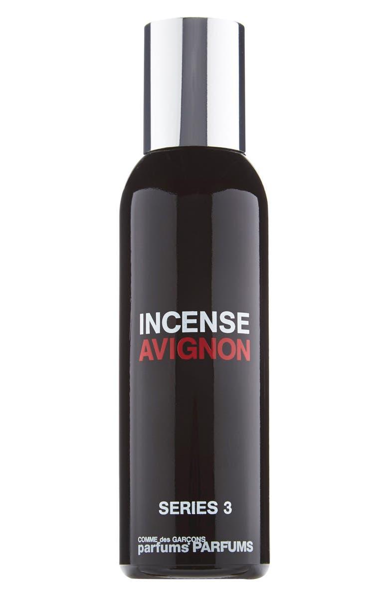 COMME DES GARÇONS Series 3 Incense: Avignon Eau de Toilette, Main, color, BLACK