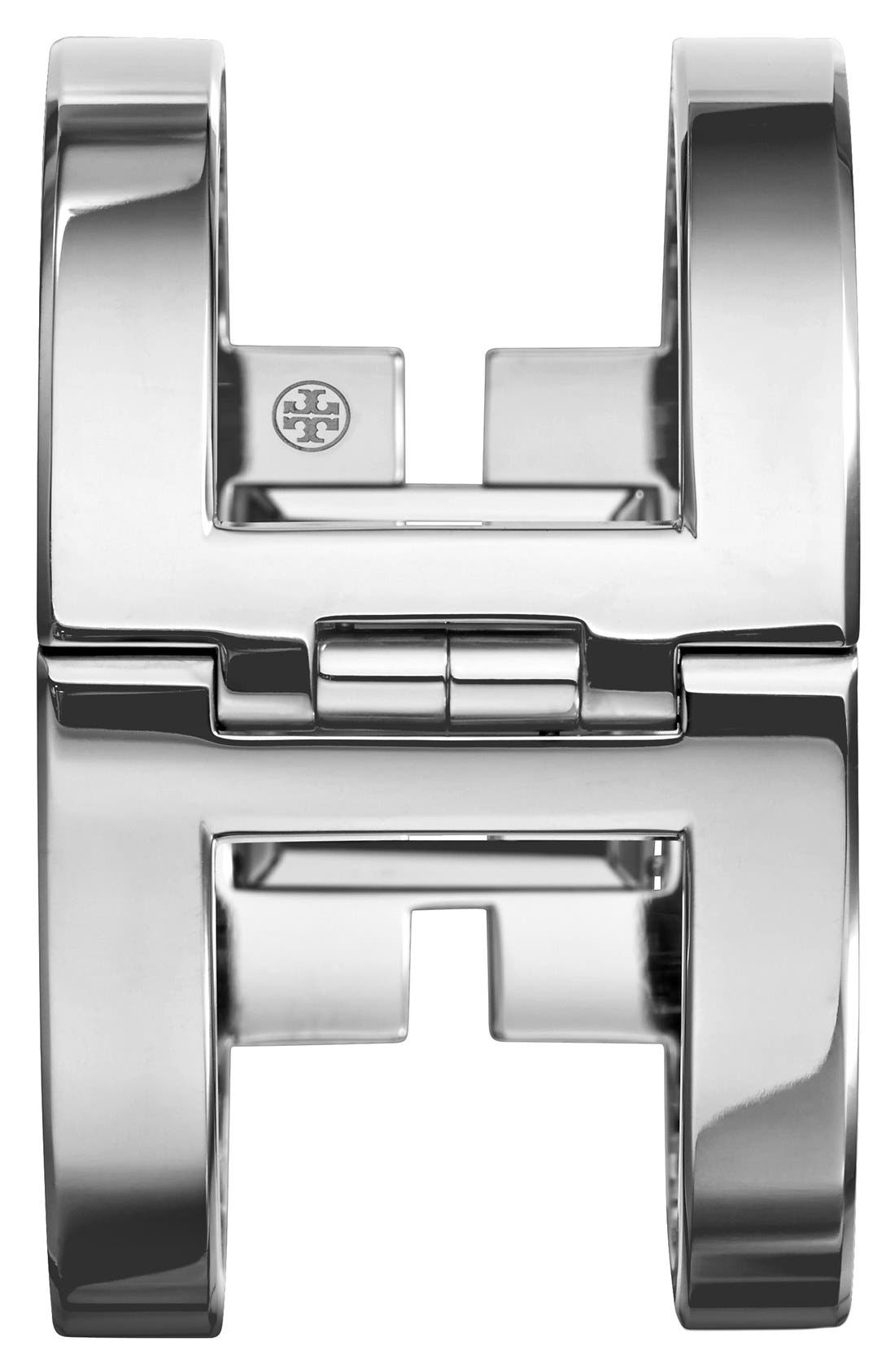 ,                             'Sawyer' Square Bangle Watch, 20mm,                             Alternate thumbnail 3, color,                             040