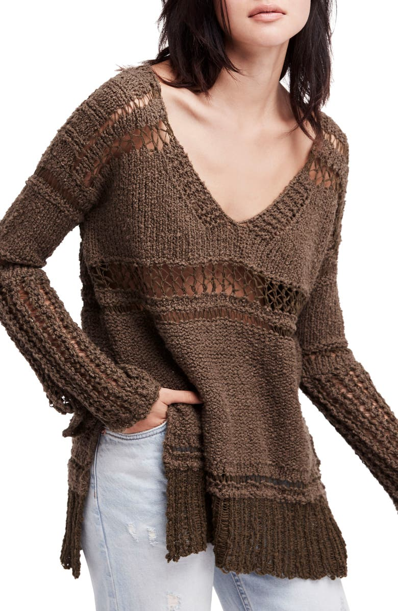 FREE PEOPLE Belong to You Sweater, Main, color, 303