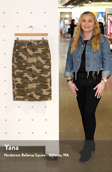 Twill Cargo Skirt, sales video thumbnail
