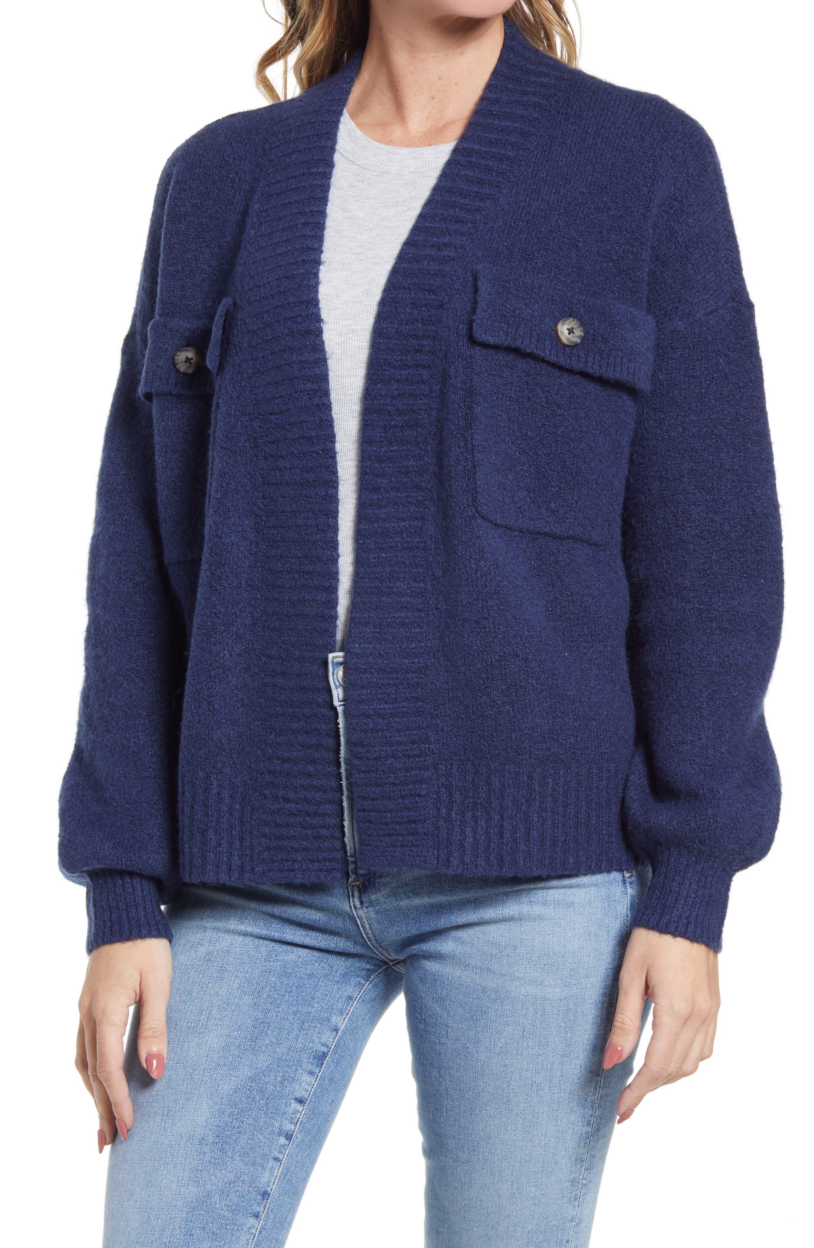 Madewell Cargo Cardigan Sweater | Nordstrom