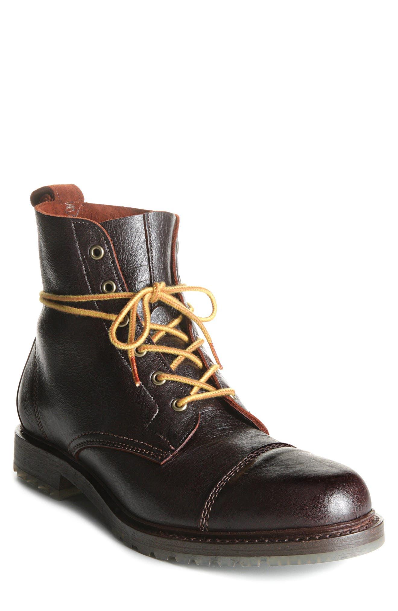 Normandy Cap Toe Boot