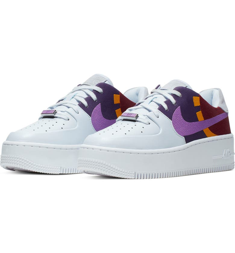 Nike Air Force 1 Sage Low Colorblock Sneaker Women