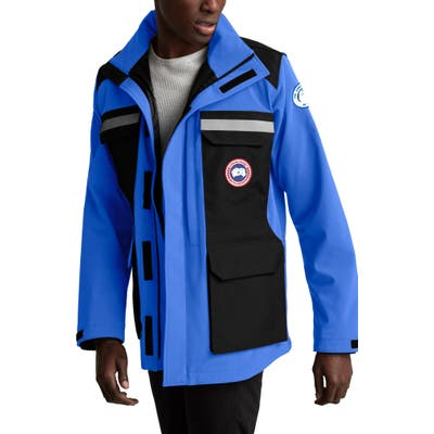 Canada Goose Photojournalist Water Resistant Jacket, Blue