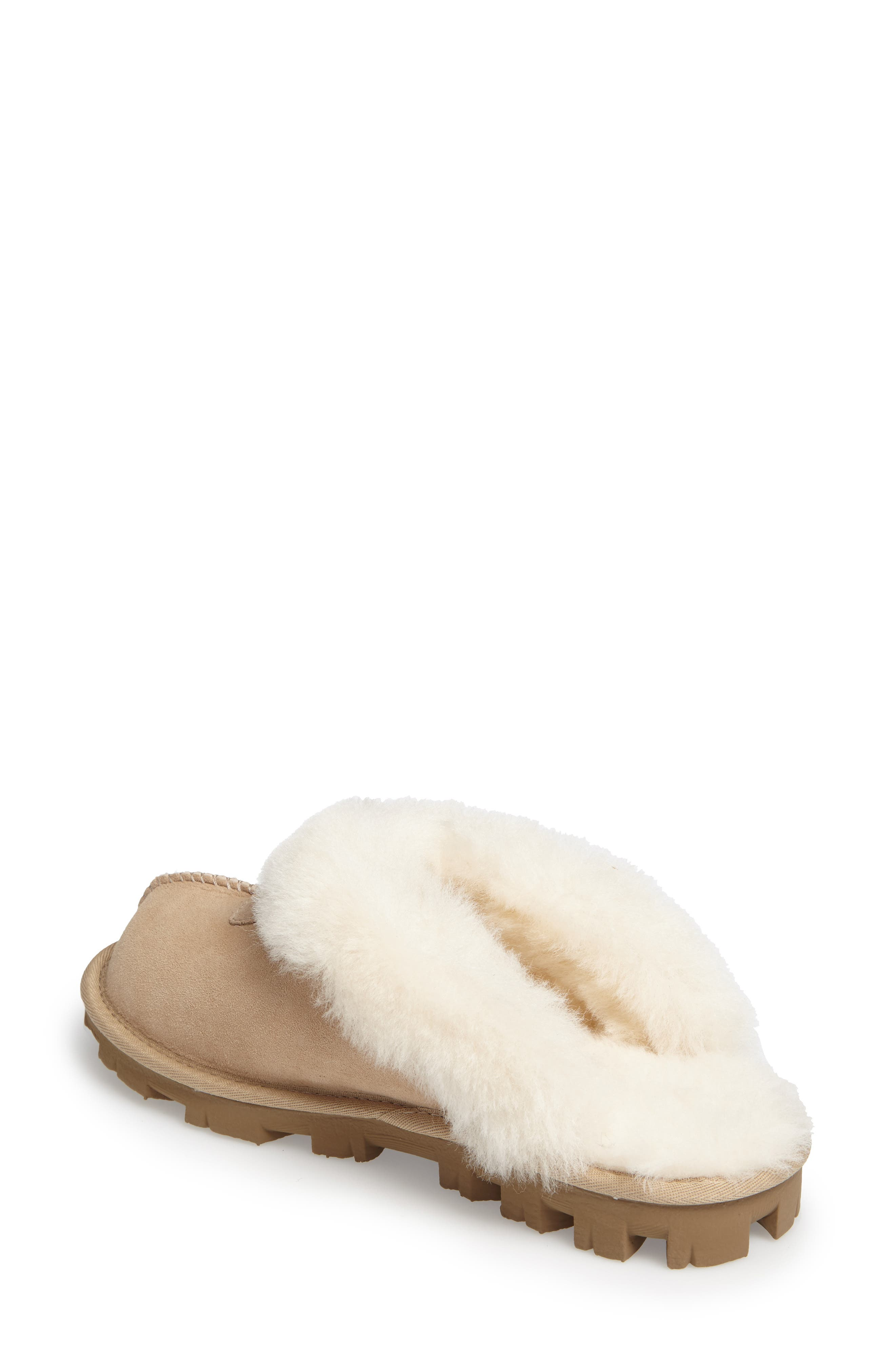,                             Genuine Shearling Slipper,                             Alternate thumbnail 184, color,                             SAN