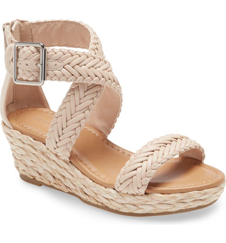 TREASURE & BOND Braided Wedge Sandal, Main, color, 680