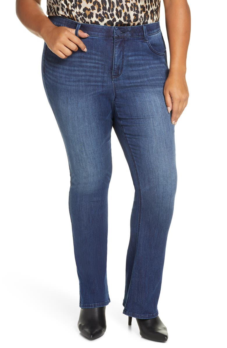 Wit & Wisdom Ab Solution Itty Bitty Bootcut Jeans (Plus Size