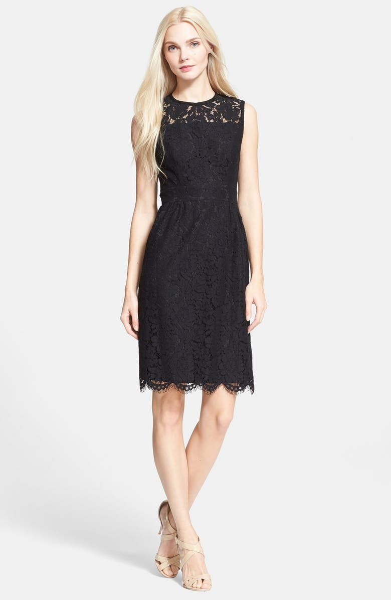 kate spade new york floral lace sheath dress   Nordstrom