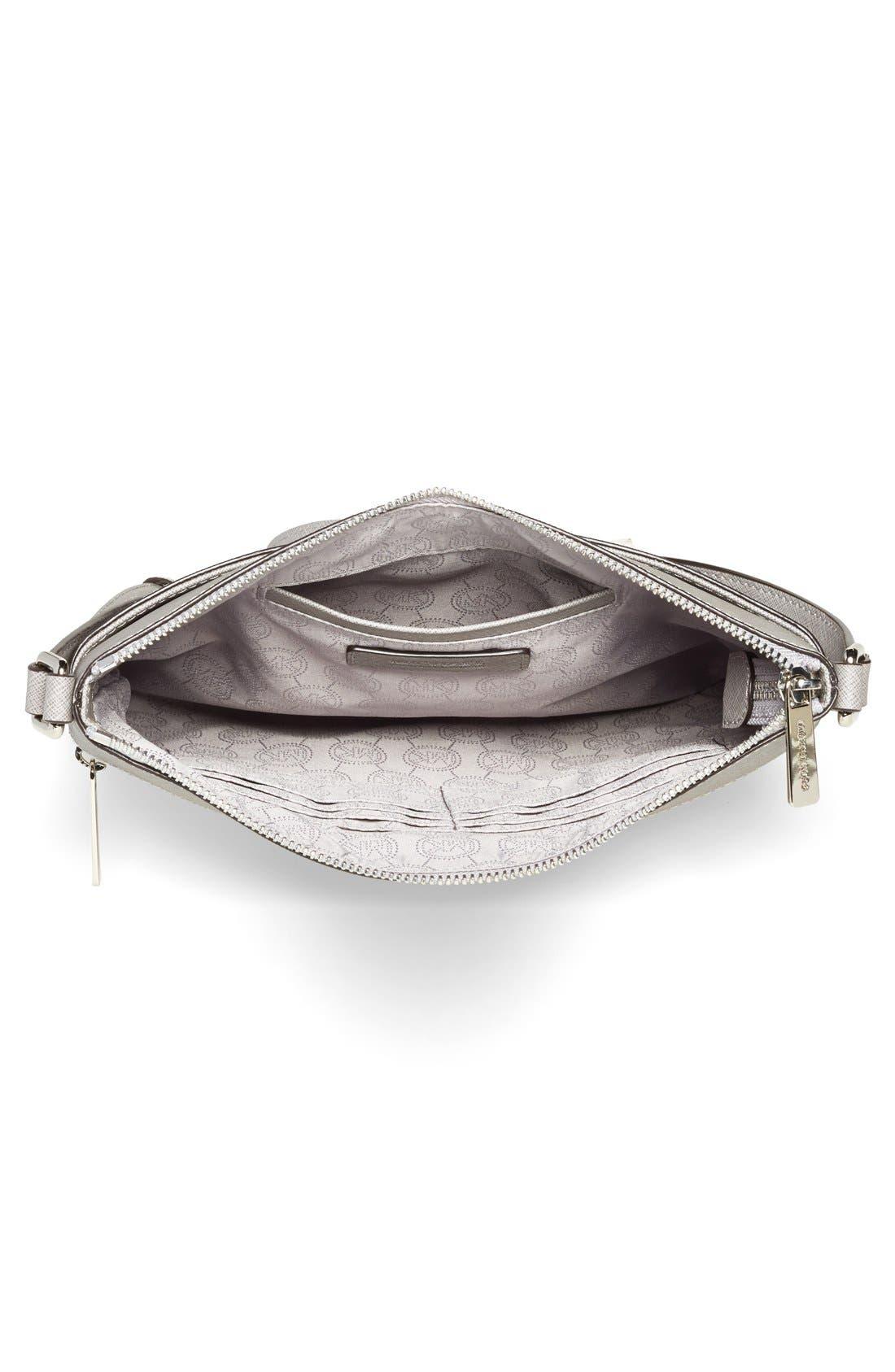 ,                             'Bedford' Saffiano Leather Crossbody Bag,                             Alternate thumbnail 4, color,                             081
