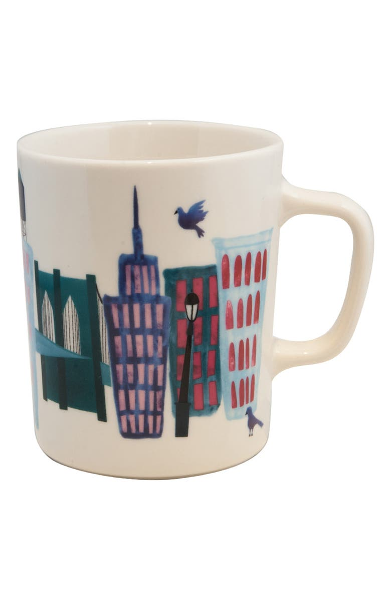FISHS EDDY Collage City Mug, Main, color, 100