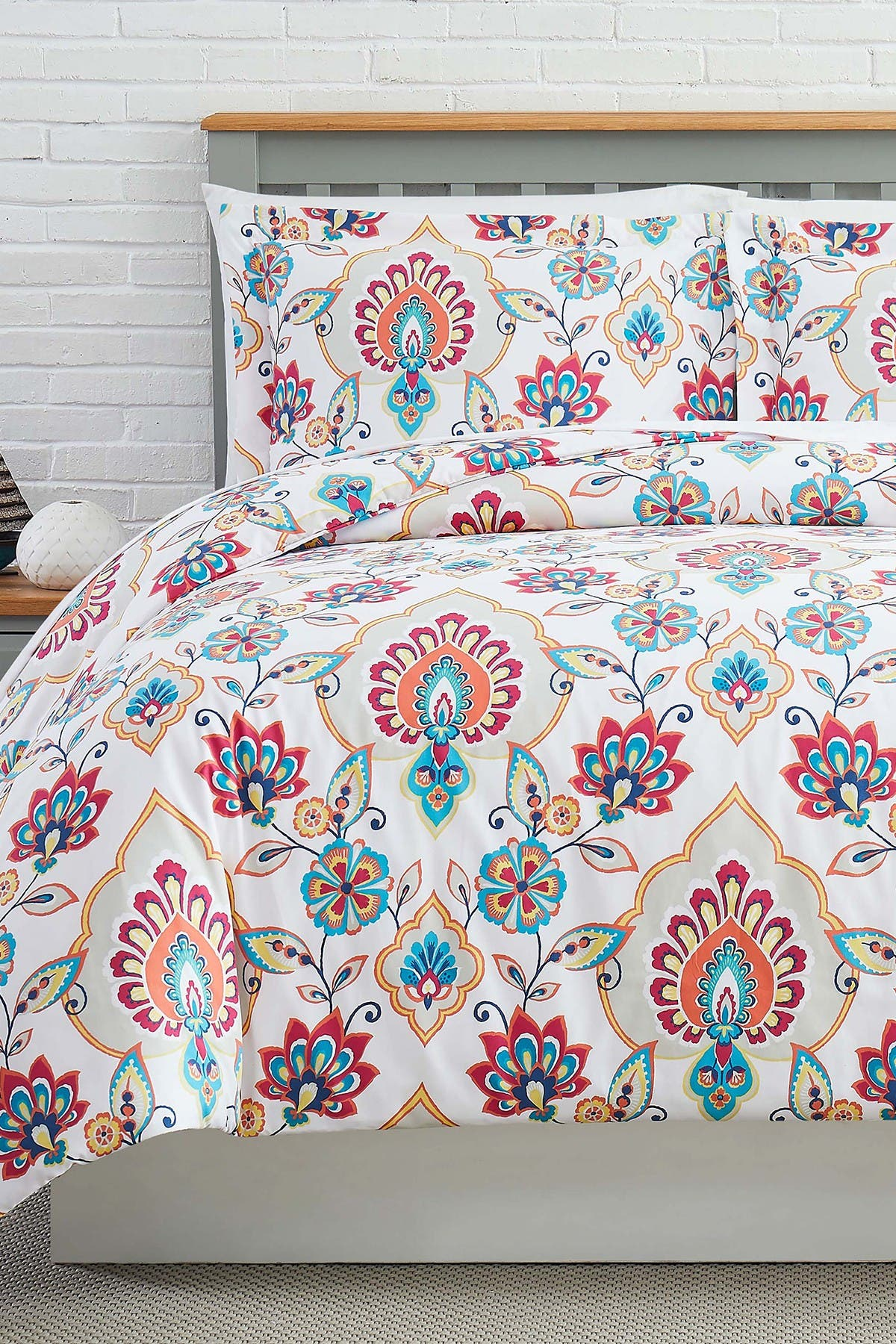 Image of SOUTHSHORE FINE LINENS Luxury Collection Oversized Duvet Cover Sets 3-Piece Set - King/California King