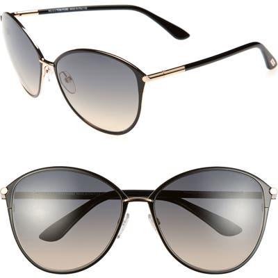 Tom Ford Penelope 5m Gradient Cat Eye Sunglasses -