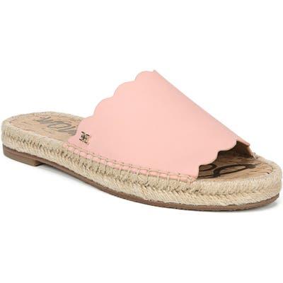 Sam Edelman Andy Slide Sandal- Pink
