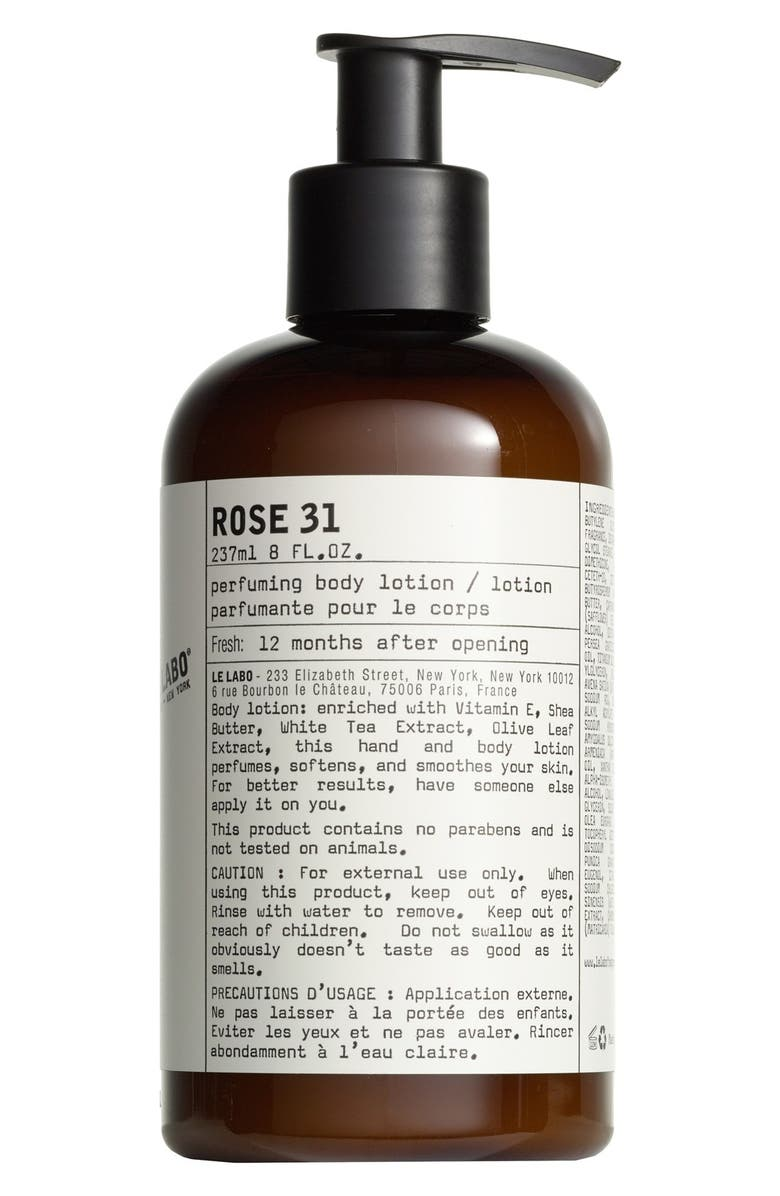 LE LABO Rose 31 Hand & Body Lotion, Main, color, NO COLOR