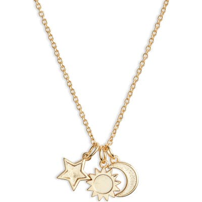 Sterling Forever Charm Pendant Necklace