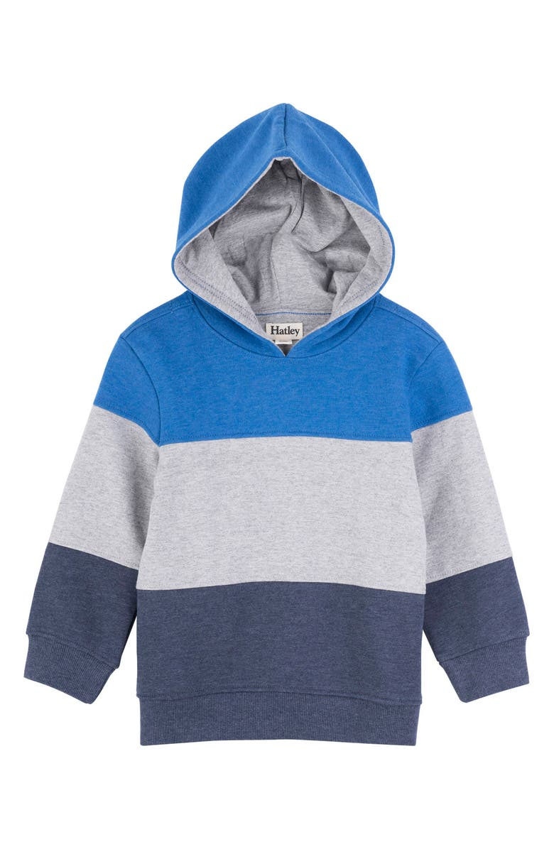 HATLEY Colorblock Hooded Pullover, Main, color, 400