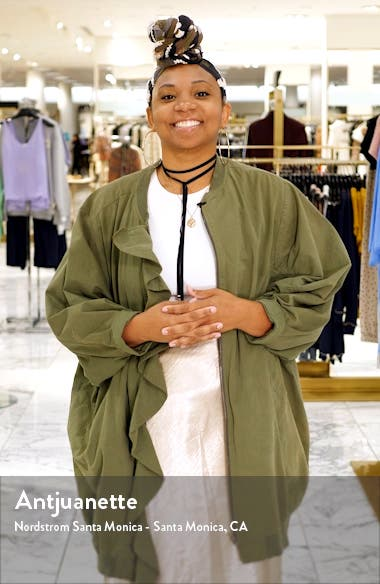 Flora Sequin Fit & Flare Dress, sales video thumbnail