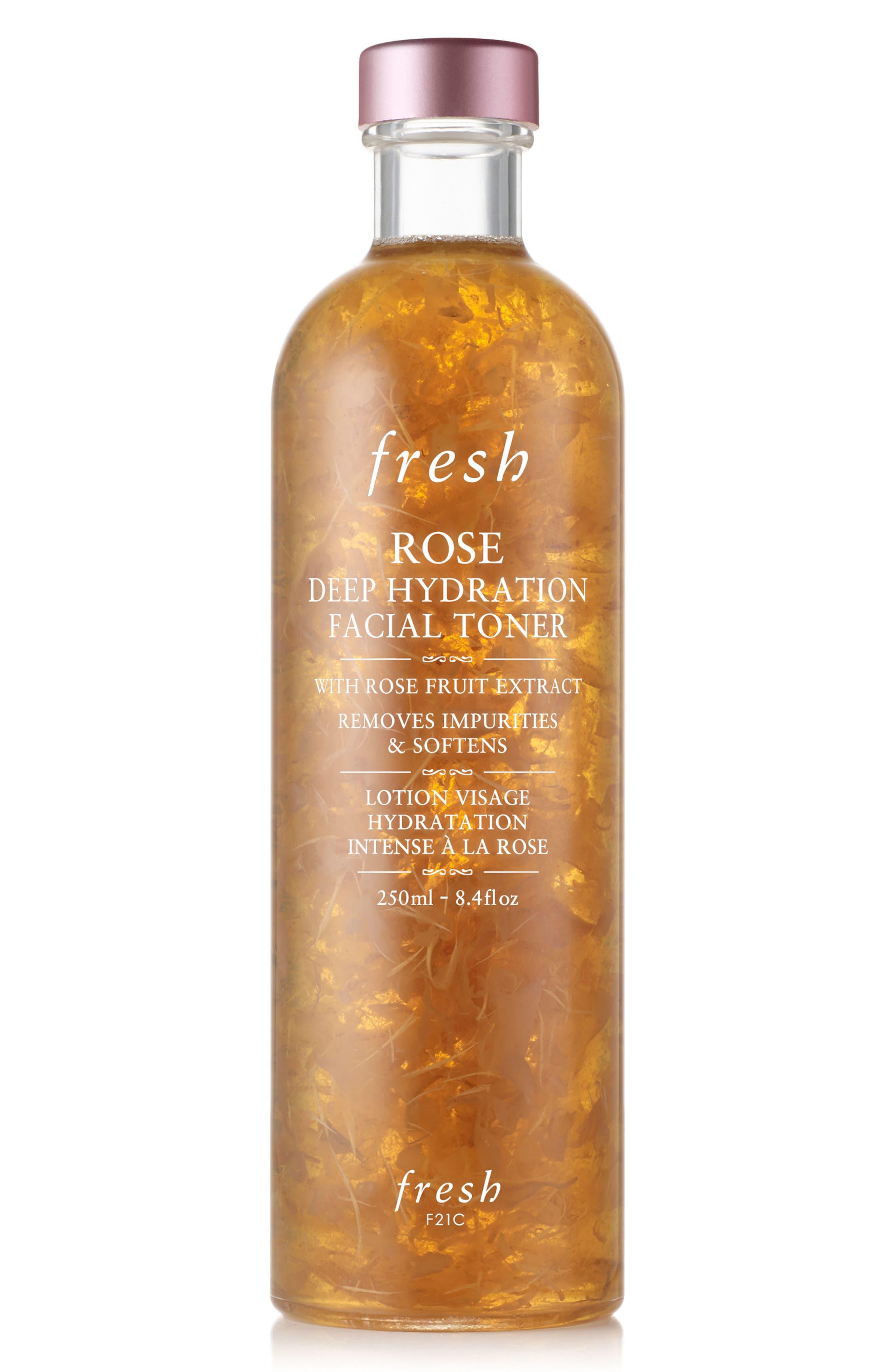 Fresh Rose & Hyaluronic Acid Deep Hydration Toner