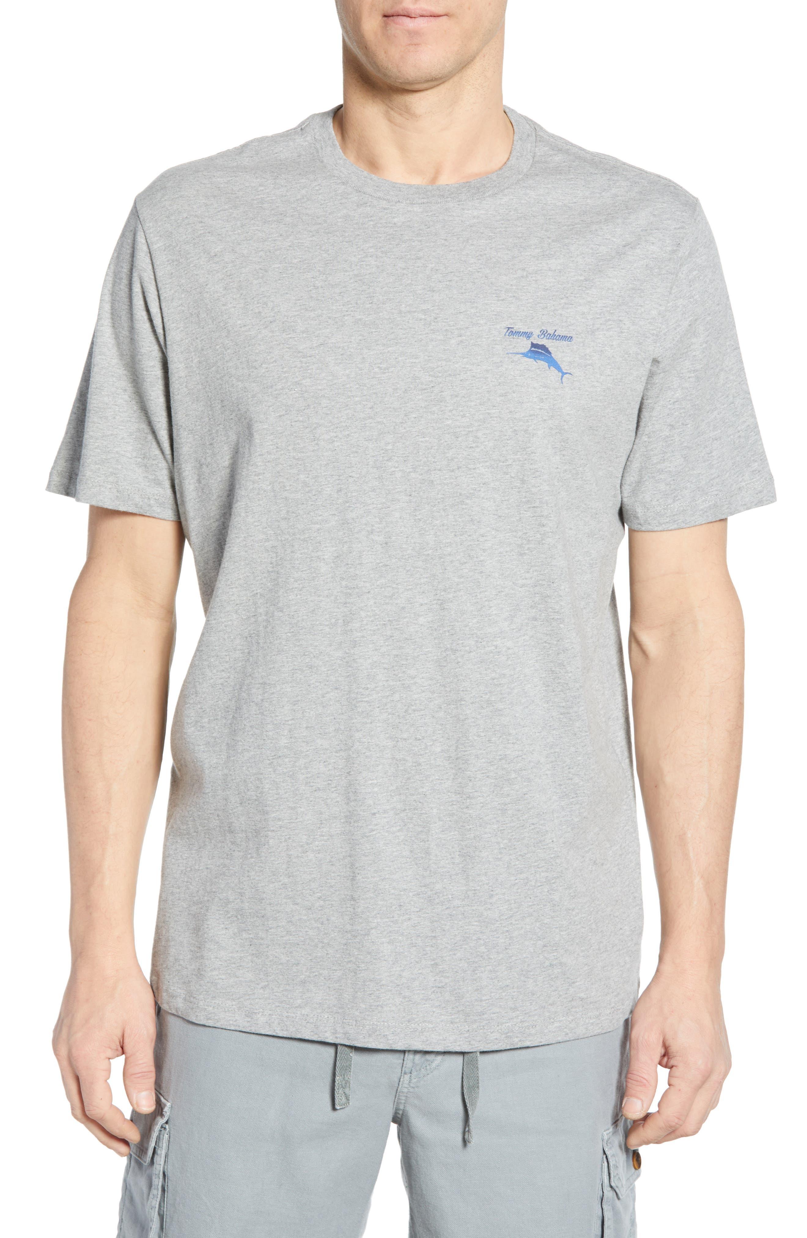 Tommy Bahama Make Ship Happen Graphic T-Shirt, Grey