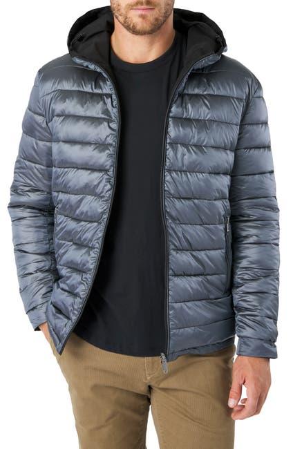Image of 7 Diamonds Eureka Reversible Hooded Puffer Coat