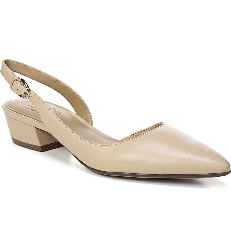 NATURALIZER Banks Pump, Main, color, SOFT NUDE LEATHER