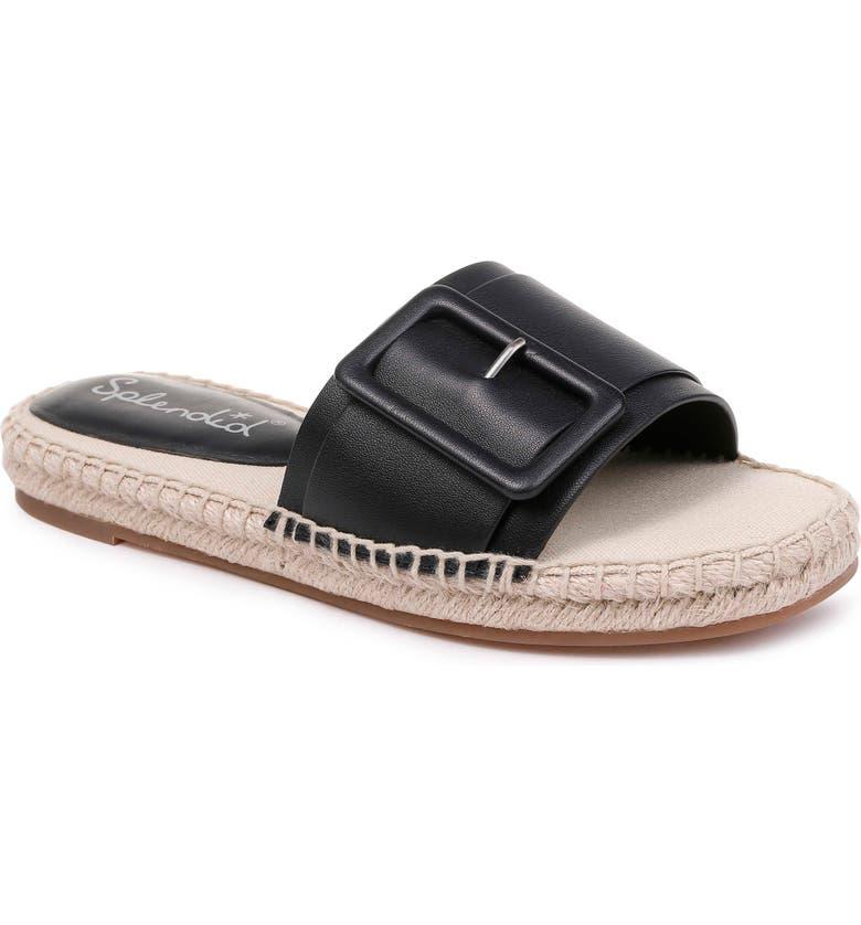 SPLENDID Simpson Espadrille Slide Sandal, Main, color, 002