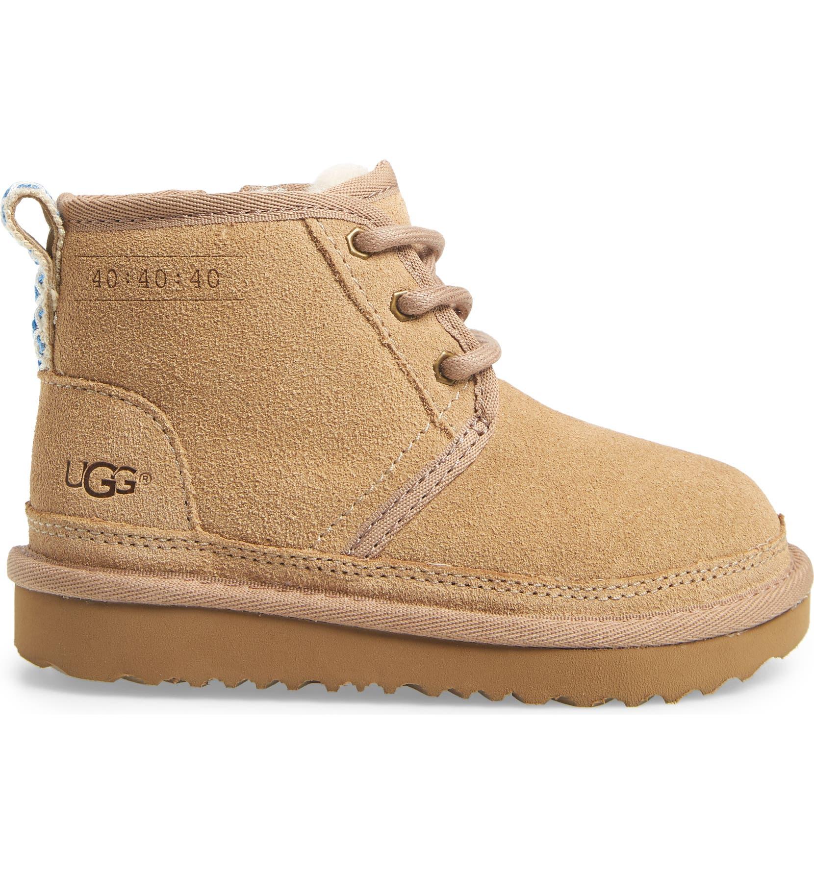 b55d7e3d3a0 UGG® Neumel 40:40:40 Anniversary Boot (Walker & Toddler) (Limited ...