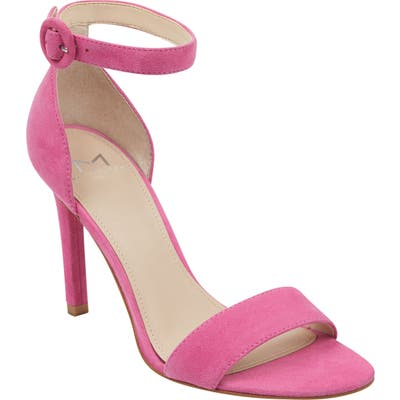 Marc Fisher Ltd Kora Ankle Strap Sandal- Pink