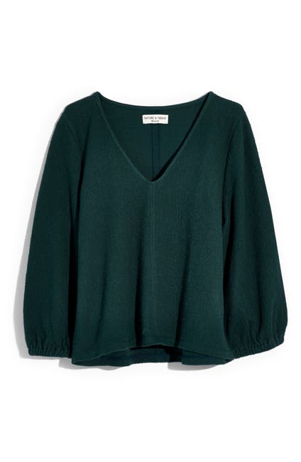 Image of Madewell Texture & Thread Full Sleeve Top