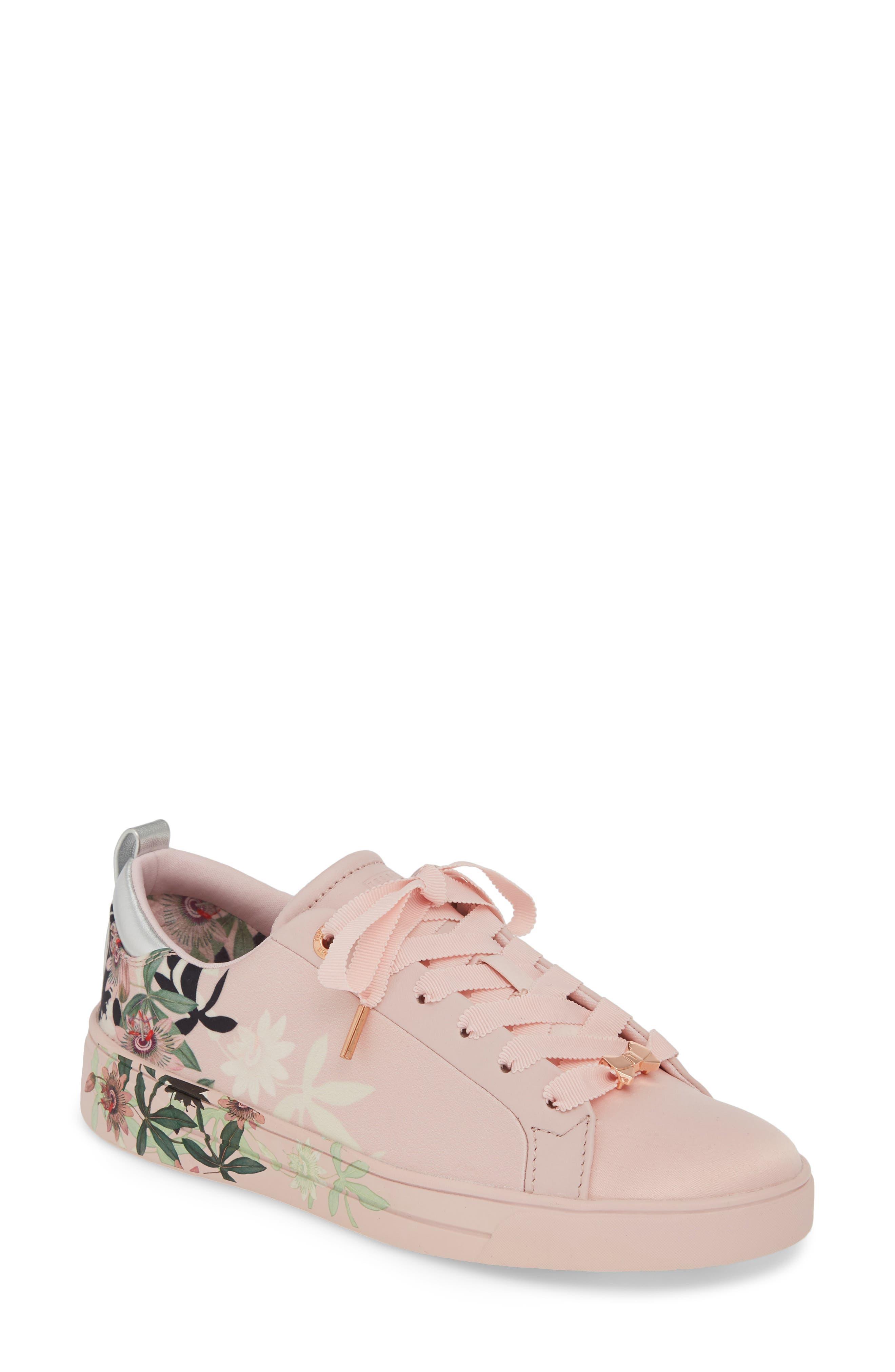 ,                             Rialy Sneaker,                             Main thumbnail 1, color,                             PINK ILLUSION SATIN