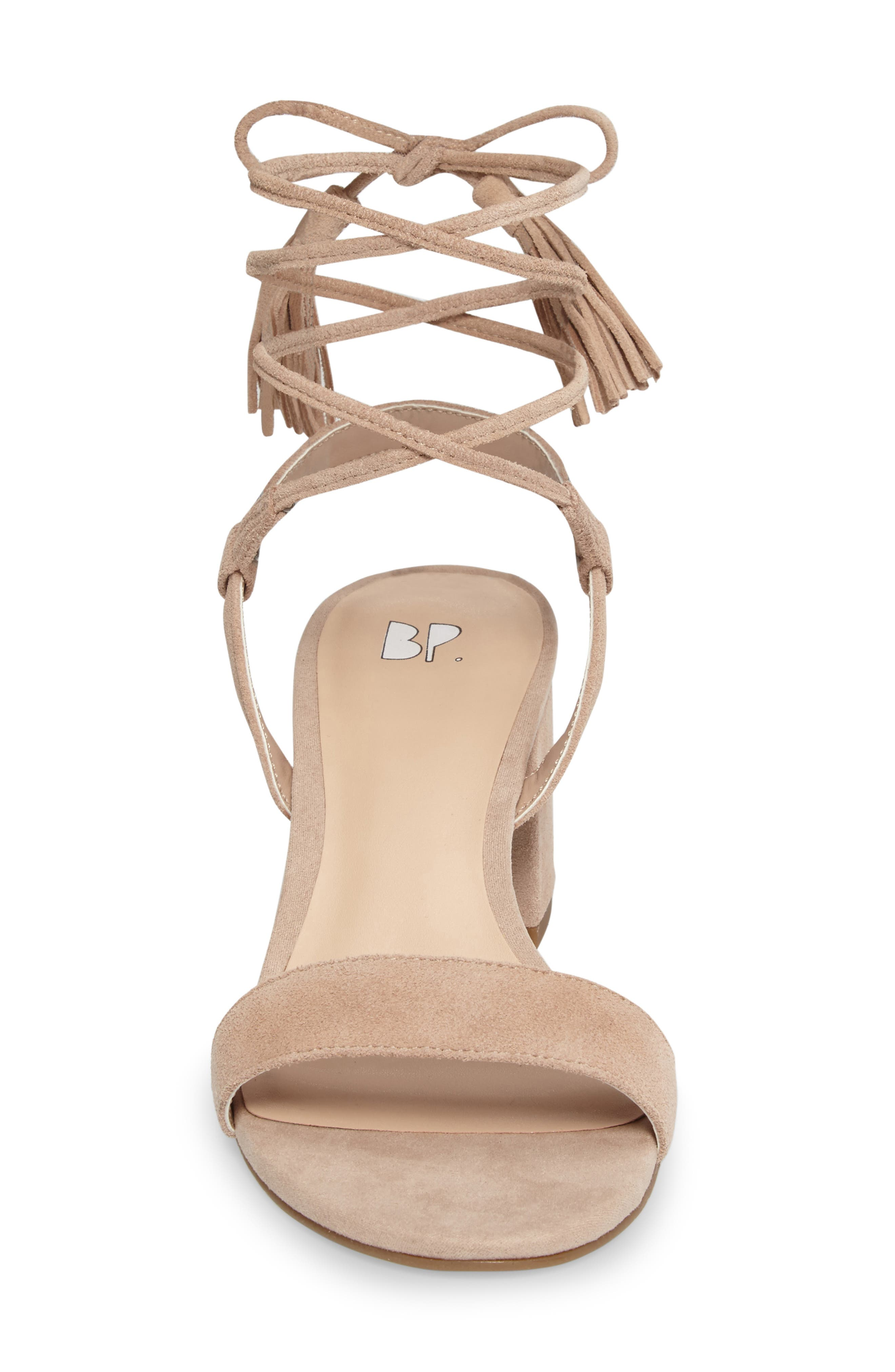 ,                             Karla Block Heel Ankle Wrap Sandal,                             Alternate thumbnail 14, color,                             651