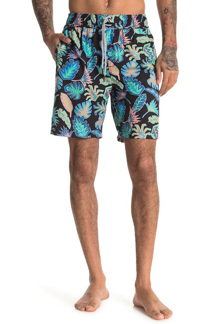 Image of Sovereign Code Disruptor Patterned Swim Shorts