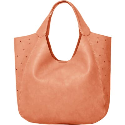 Urban Originals Masterpiece Perforated Vegan Leather Hobo - Pink