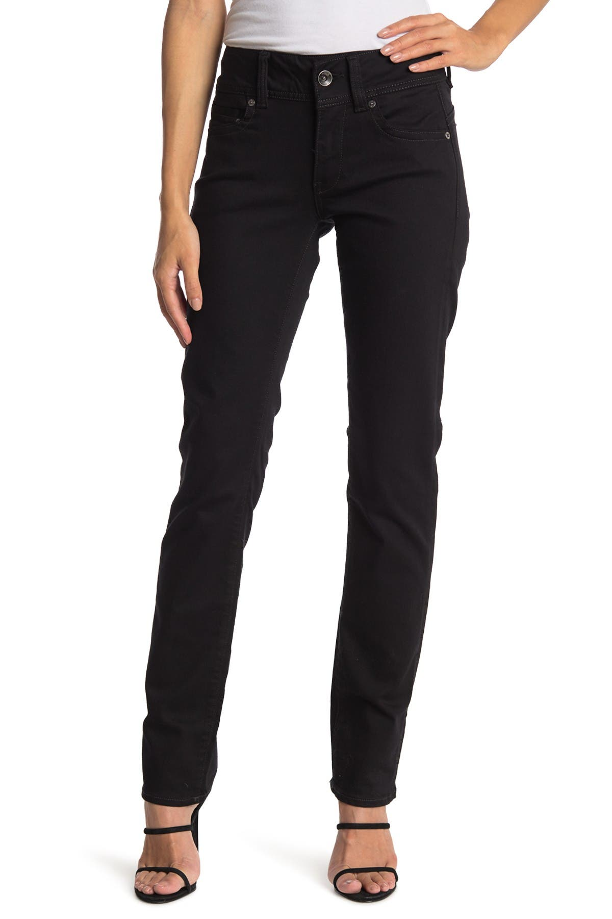 Image of G-STAR RAW Midge Saddle Mid Straight Leg Jeans