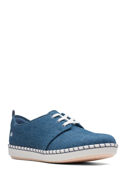 Image of Clarks Step Glow Lace-Up Sneaker