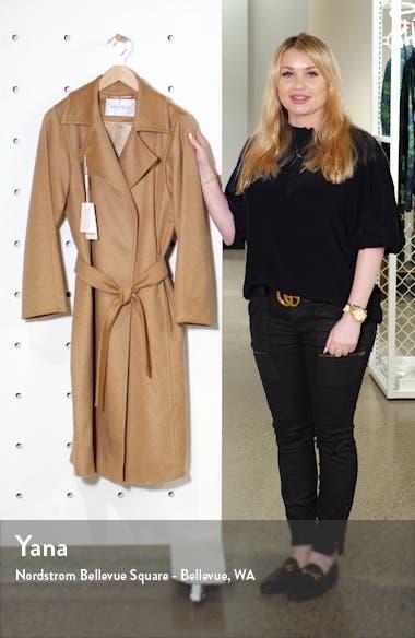 Manuela Camel Hair Coat, sales video thumbnail