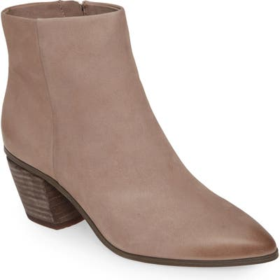 Vince Camuto Grasem Pointed Toe Western Boot- Grey