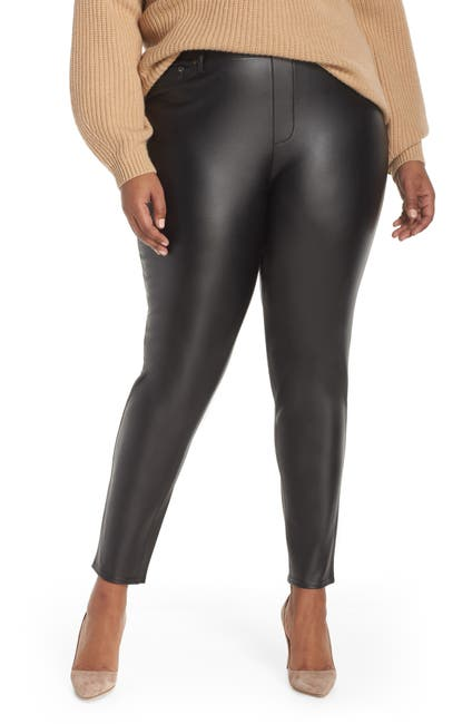 Image of Seven7 Faux Leather Leggings
