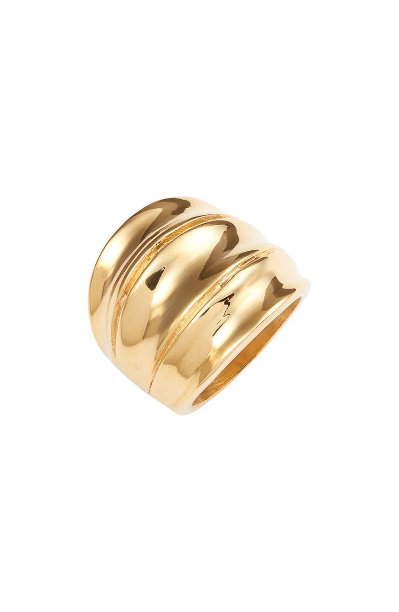 ELLIE VAIL Logan Cocktail Ring, Main, color, GOLD