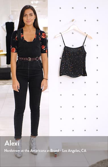 x Claudia Sulewski Straight Neck Camisole Top, sales video thumbnail