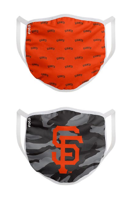 Image of FOCO MLB San Francisco Giants Clutch Printed Face Cover - Pack of 2